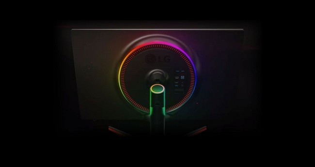 Look at the lighting system of LG 32GK850G-B