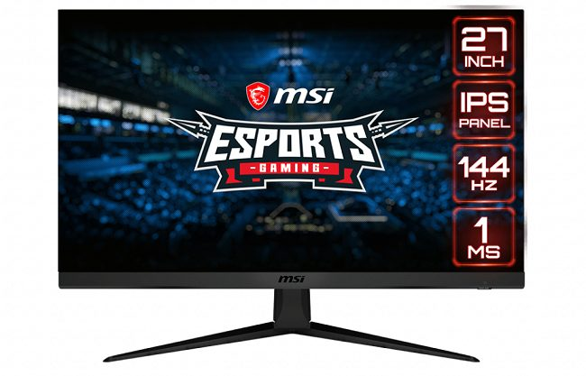 MSI Optix G271 seeks to attract an audience close to e-sports
